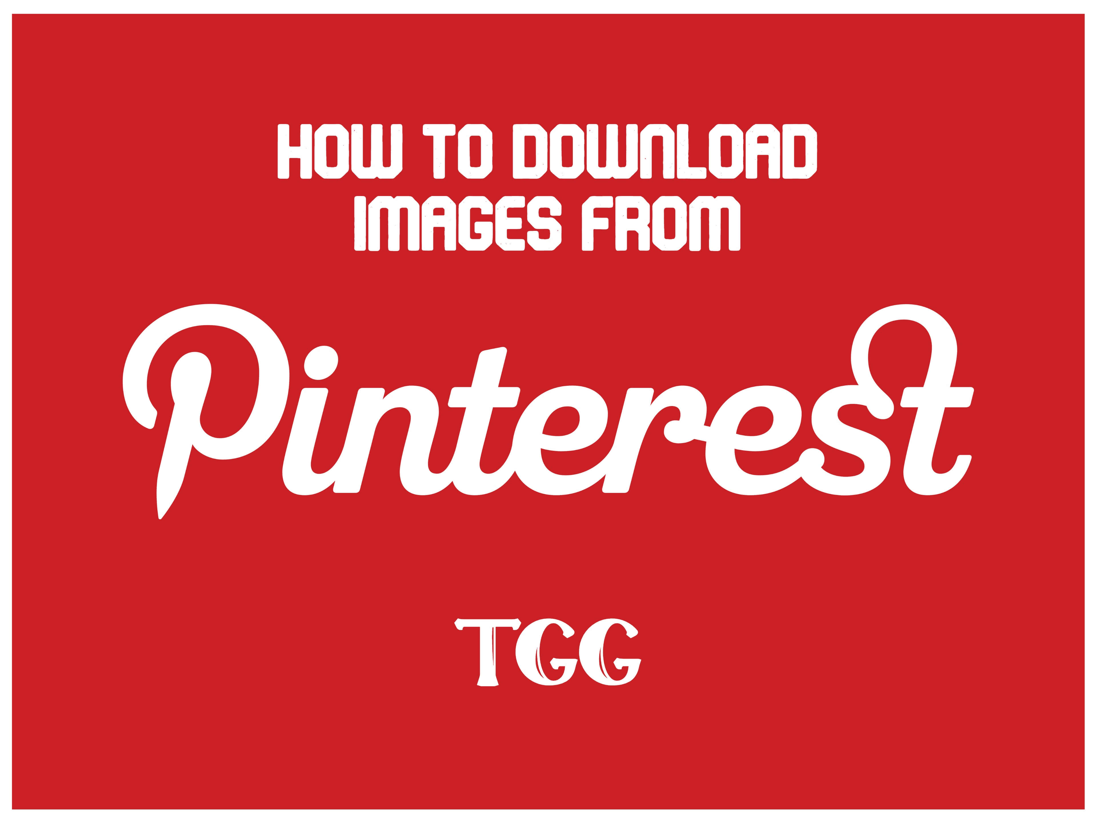 How to Download Images from Pinterest | Easy and Best Way
