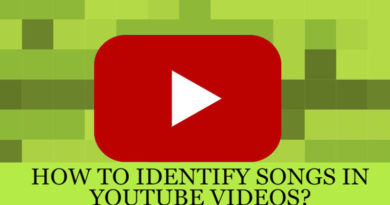 identify songs in youtube videos
