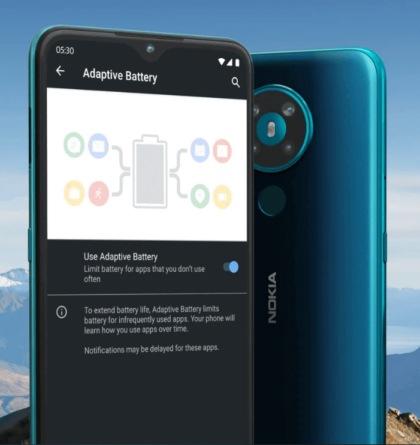 Nokia 5.3 Adaptive Battery